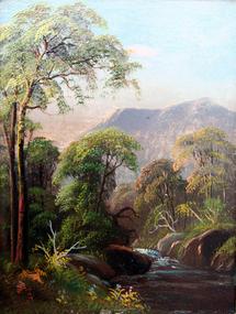 Small Hudson River Landscape by Daniel Charles Grose