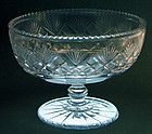 Philadelphia Cut Glass Compote