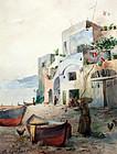 """Capri"" by Emma Lampert Cooper (American, 1860-1920)"