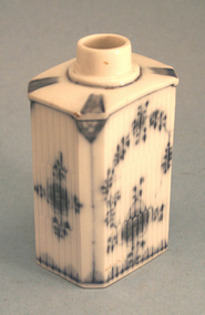 Antique German Porcelain Tea Caddy