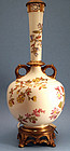 Royal Worcester Lamp