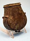 Antique Ottoman Bronze Shot Box