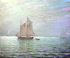 Sailing on the Chesapeake by Charles Watson
