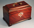 George II Tea Caddy with Secret Drawer