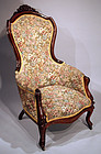 Victorian Armchair made in Alexandria Virginia