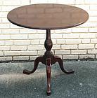 18th Century American Mahogany Tea Table