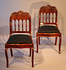 Gothic Revival Sidechairs from Alexandria, Virginia