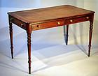 Fine English Regency Writing Table