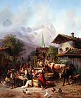 Joseph Heinrick Ludwig Marr (German, 1807-1871)