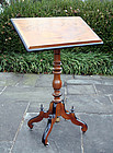 English Victorian Reading or Dictionary Stand