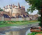 Le Chateau d�Amboise by Louis Courtin