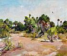 Florida Landscape by Lillian Cotton (American, b. 1901)