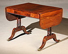Exceptional Regency Sofa Table in Rosewood