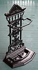 Fine Victorian Cast Iron Cane Rack or Umbrella Stand