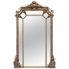 Important French Gilt Pier Mirror