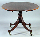 EXCEPTIONAL 18th CENTURY MAHOGANY BREAKFAST TABLE