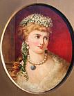 Pre-Raphaelite Portrait of a Woman by Valentine Prinsep
