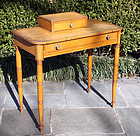American Mustard Painted Dressing Table