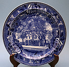 Pair of Wedgwood  Plates of Longfellow�s Home, Portland