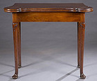 Fine George II Small Scale English Card Table