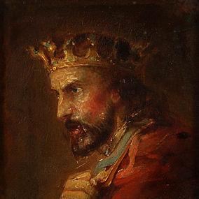 """""""Macbeth"""" by Peter Paul Duggan (Irish/American 1810 ? -1861)"""