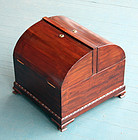 Large Regency Domed Top Decanter Box