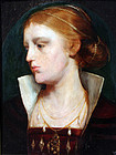 Pre-Raphaelite Portrait of a Young Beauty