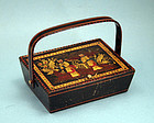 English Child's Sewing Box, 19th Century