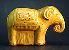 Pottery Elephant-form  Childs Bank