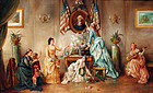 """Honoring Washington"" by John Devich (American)"