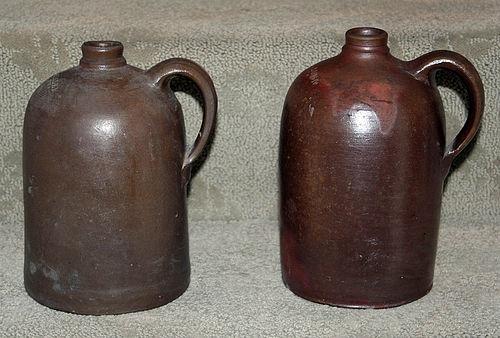 Two Alexandria Virginia Stoneware Jugs