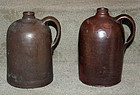 Two Alexandria Virginia Stoneware Jugs