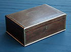 Rare Antique Anglo-Indian Wire Inlaid Box