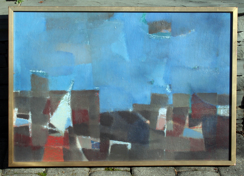 Abstract by John Chapman Lewis (Am. 1920-1995)
