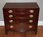 Fine Small 18th Century Sheraton Chest of Drawers