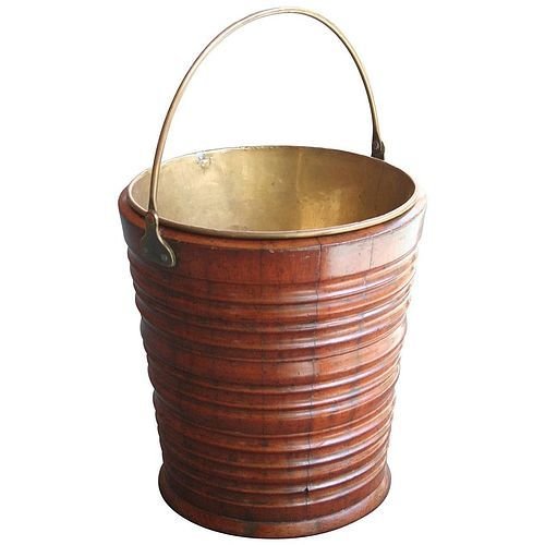 Antique Dutch Peat Bucket