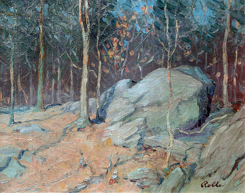 Rock Creek Park by August H. O. Rolle (American 1875-1941)