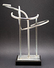 Cast Aluminum Abstract Modern Sculpture