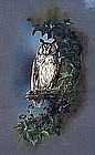 Painting of an Owl by Raymond C. Watson ( b. 1935)