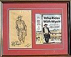 Wyatt Earp by William Taylor Oughton (Am, b. 1925)
