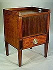 Fine Anglo-Dutch Bedside Table