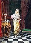 Charming Spanish Genre Painting