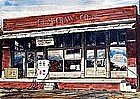 """The Old General Store"" by Marvin Yates (Am.)"