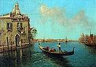 Venetian Scene by Nicholas Briganti (Am., 1895-1989)