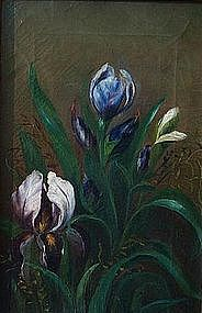 Floral Still Life with Iris