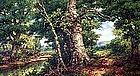 Woodland Landscape by Robert M. Decker (Am.b.1847)