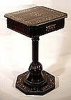 Rare Dutch Colonial Sewing Stand
