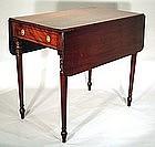 English Regency  Pembroke Table