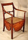 18th century Sheraton Potty Chair