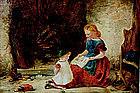 Genre Scene by Percy Hunt (British, 19th century)